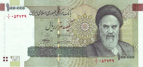 10,000 Toman (100,000 Rial)